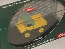 SCHUCO - LIMITED EDITION METALL - MODELL - MERCEDES BENZ UNIMOG 401 - 1:43 - OVP