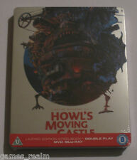 Howl's Moving Castle Blu Ray Steelbook - New, Sealed, MINT region B Limited