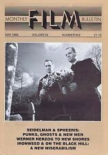 SEIDELMAN & SPHEERIS / WERNER HERZOG Monthly Film Bulletin May 1988