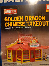 Walthers Cornerstone HO #933-3780 Golden Dragon Chinese Take Out -- Kit form