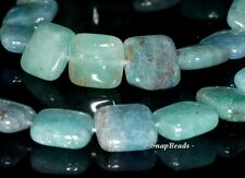 12MM APATITE GOLD RUTILE INCLUSIONS GEMSTONE GRADE A SQUARE LOOSE BEADS 16""