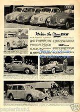 DKW XL publicitarias de 1955 publicidad ad (D)