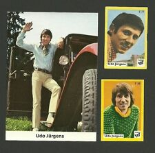 Udo Jurgens Music Fab Card Collection