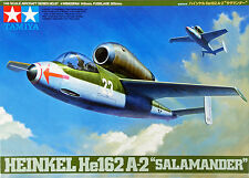 "Tamiya 61097 German Heinkel He162 A-2 ""Salamander"" 1/48 scale kit"
