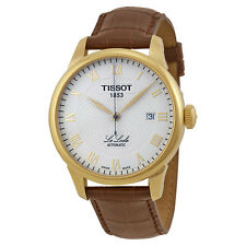 NEW MEN'S TISSOT LE LOCLE 25 JEWEL AUTOMATIC SAPPHIRE WATCH T41.5.413.73