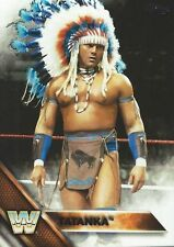Tatanka WWE Then Now Forever 2016 Trading Card #196 WWF