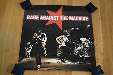"""Rage Against the Machine 1997 24"""" 2-Sided Perforated Promotional Store Poster"""