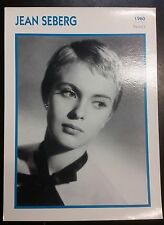American Joan of Arc Actress Jean Seberg French Film Trade Card