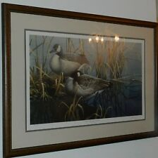 PACO YOUNG QUIET MORNING CANADAS DUCKS UNLIMITED LIMITED SIGNED PRINT 1859/5000