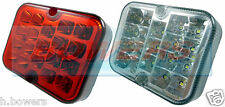 RING RCT495 & RCT496 SQUARE LED REAR LIGHT SET FOG & REVERSE LIGHTS/LAMPS UNITS