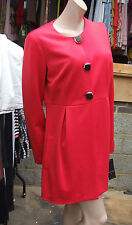 Frank Lyman Canada BNWT 14 Sensational Poppy Red Coat / Long Jacket US 12 DIVINE
