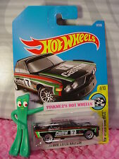 '73 BMW 3.0 CSL RACE CAR #57✰Black;Castrol 7✰Speed ✰2017 i Hot Wheels Case C