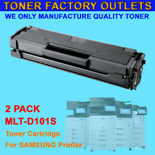 2PK MLT-D101S New Toner Cartridge For SAMSUNG SF-760P ML-2160 ML-2165 ML-2165W