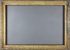 Ancien Cadre Format 49 cm x 34 cm Antique Frame Vintage Cornice Rahmen Marco