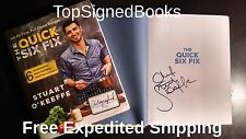 SIGNED The Quick Six Fix 100 No-Fuss by Stuart O'Keeffe first autographed new