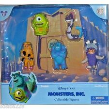 NEW Disney World Land Monsters Inc figure figurine set Theme Park Sully Mike Boo