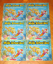 Lot 6 MAGIC SCHOOL BUS ON THE OCEAN FLOOR Joanna Cole guided reading L1
