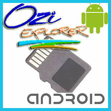 OziExplorer Android + Off Road Australian GPS 4WD maps on Micro SD for Tablet