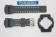 CASIO GA-110TS-1A4 G-Shock Original Dark Grey BAND & BEZEL Combo GA-110 GA-110TS
