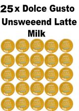 25 x Dolce Gusto Unsweetened Milk Pods