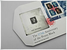 175th Anniversary of The Penny Black 2015 - First Day Cover with Miniature Sheet