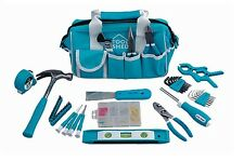 Tool Shed 53 Piece Basic Tool Kit Hammer, Screwdrivers etc. Turquoise TK53PC