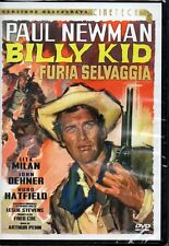BILLY KID - FURIA SELVAGGIA - PAUL NEWMAN - DVD (NUOVO SIGILLATO)