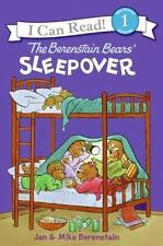 The Berenstain Bears' Sleepover (I Can Read Book 1)-ExLibrary