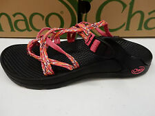CHACO WOMENS SANDALS ZONG X ECOTREAD REEF REDS SIZE 6