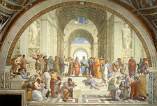Framed Raphael Print - The School of Athens (Picture Painter Italian Artist Art)