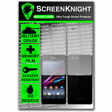 ScreenKnight Sony Xperia Z1 Compact FULL BODY SCREEN PROTECTOR invisible shield