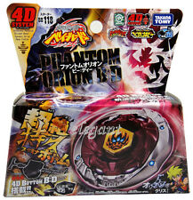 TAKARA TOMY Beyblade Phantom Orion B:D Bottom 4D System + Launcher BB118