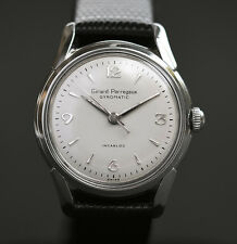 50s Vintage GIRARD PERREGAUX Automatic 47 SWISS WATCH MEN STAINLESS STEEL