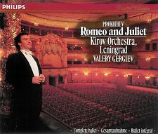 Romeo and Juliet ~ Complete Ballet ~ Valery Gergiev ~ 2-Disc CD set with Booklet