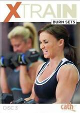 Weight Training Exercise DVD - CATHE FRIEDRICH Xtrain Burn Sets - 2 Workouts!