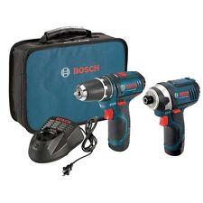 Bosch Tools 12 Volt PS31/PS41 Lithium-Ion Combo Kit CLPK22-120 New 2 Batteries