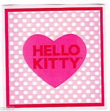 "4"" HELLO KITTY  CHARACTER  PREPASTED WALL BORDER CUT OUT"