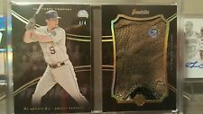 Topps The Mint 2016 DJ Lemahieu batting glove booklet 4/4