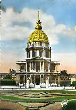 Vieja postal-parís-Les Invalides-colorierte mapa