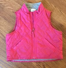 Toddler Girl Baby Gap Quilted Vest Pink Size 18-24 Months