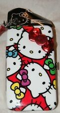 Hello Kitty Red Bow Cell Phone Case Wallet Wristlet iPhone Blackberry Sanrio