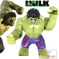 1pc Hulk Minifigures Building Blocks Toy Marvel Avengers Custom Lego #160