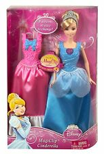 NEW Disney Princess Giftset ~ MagiClip Cinderella Doll and Extra Fashion Dress