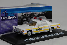 1977 Dodge Monaco Illinois State Police Movie Blues Brothers 1:43 Greenlight