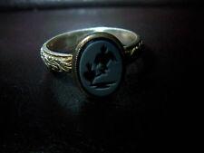 Phönix Mythos – Ring – Silber- 900er Gravur in Pasta 1905-1920