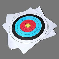 """5X Compound Bow Games Practice Training Shooting Game Archery Target Paper 23.6"""""""