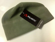 Unisex Foliage Green Military Polartec Micro Fleece Cap Polartec Hat