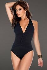 NEW MAGICSUIT 16 46 MIRACLESUIT Allegro SWIMSUIT Black $168 Retail