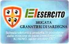 ARC - SCHEDA TELEFONICA NUOVA ARCHIVIO ESERCITO ITALIANO