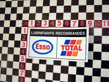 Peugeot Citroen Underbonnet Oil Sticker Autocollant 205 405 AX GTi 309 BX XM 309